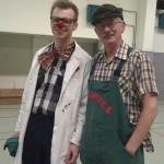 Hinnack und Ihm sich sein Pfleger..